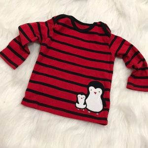 Carters Long-Sleeved T-shirt
